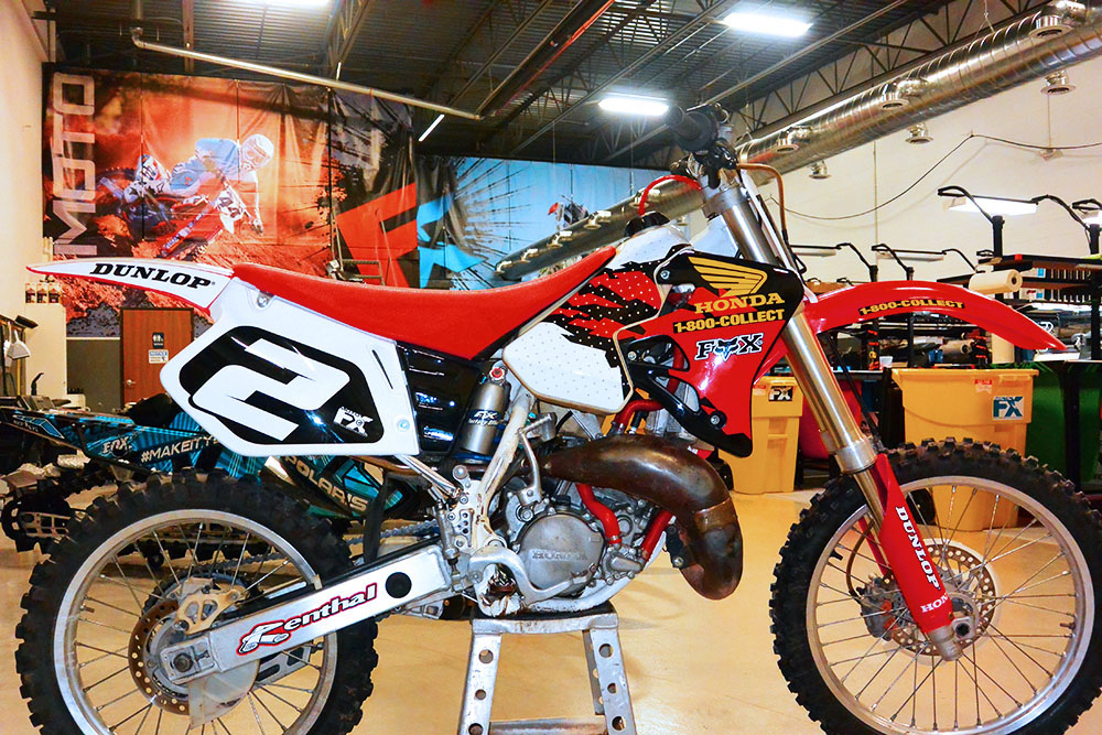 1997 Honda CR125 Jeremy McGrath Motocross Graphics - MotoFX