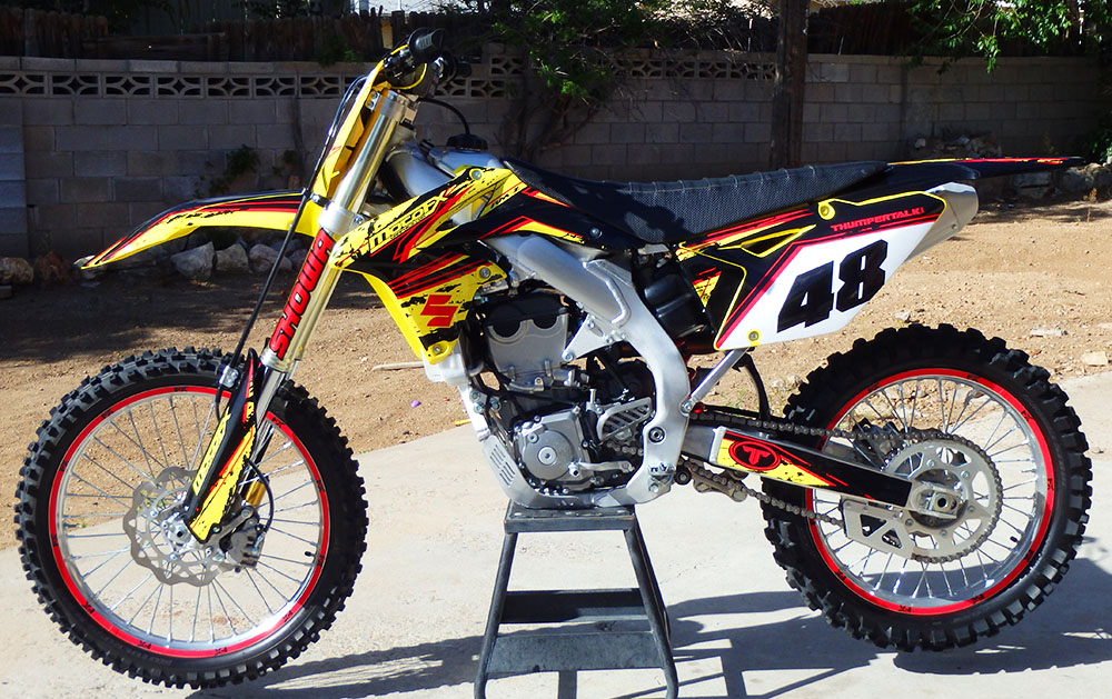 Suzuki Rmz Custom Dirt Bike Graphics Image Gallery