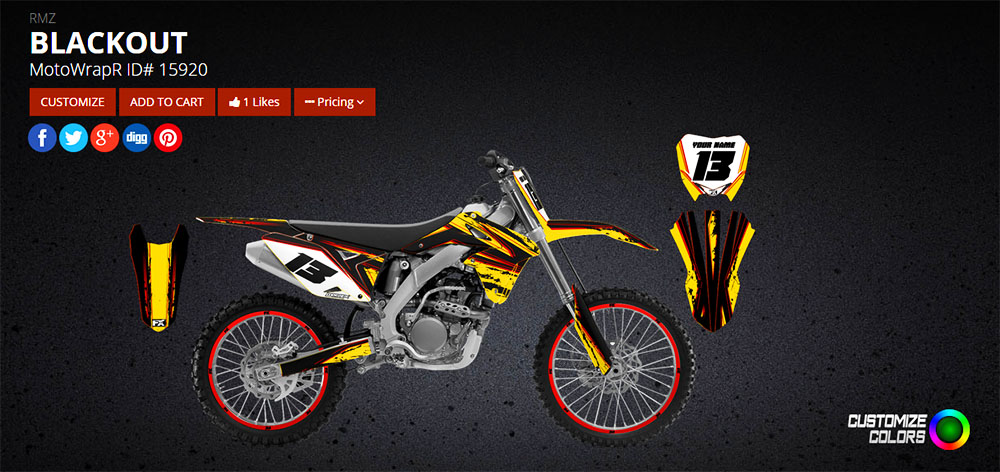 MotoFX Graphics for Life ThumperTalk Contest Winning Design